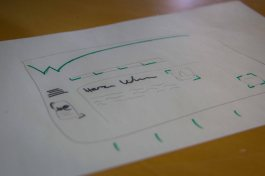 7) Mal noch schnell einen Entwurf für eine Webpage - arbeiten muss man ja schließlich auch noch!
