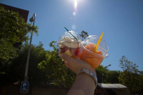 gibt es besseres als Obst in der Sonne??? :)