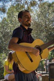 spanische Musik im Park Guell - so schee und enspannend