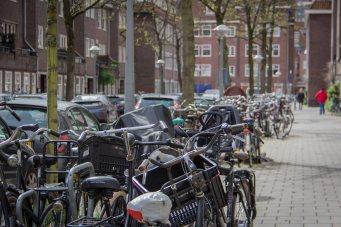 Räder über Räder..... Da ist Vorsicht auf den Straßen gefragt