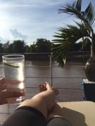 Gin Tonic am Sun Deck